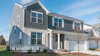 The Burberry - a New 2-Story Home Plan from North Mark Homes in Bloomingdale IL