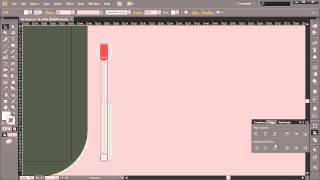 Разработка в Illustrator футуристического меню. Урок 6.