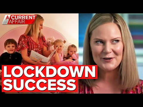 Aussie mum's lockdown project becomes worldwide hit | A Current Affair