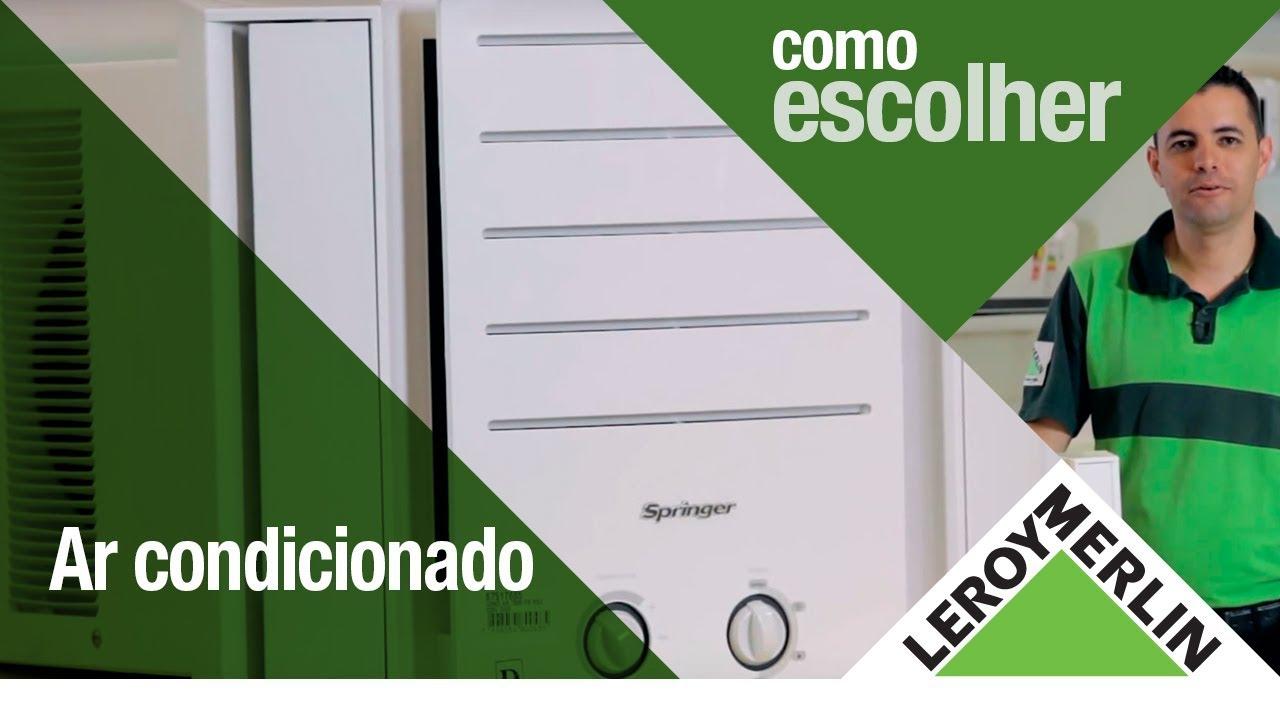 #40598B Como escolher o ar condicionado ideal para sua casa   1706 Janela De Aluminio Na Leroy Merlin
