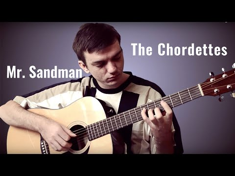 The Chordettes - Mr. Sandman [guitar cover]
