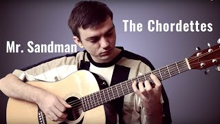 The Chordettes - Mr. Sandman acoustic guitar cover [Tabs]