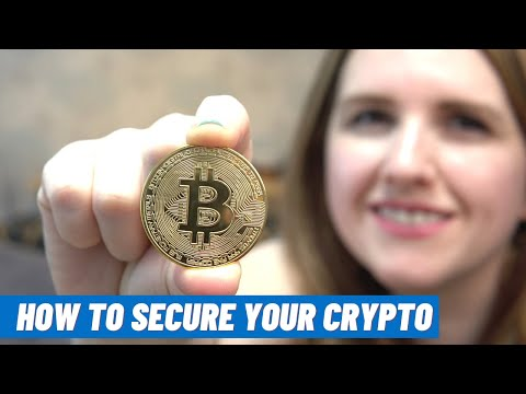How To BUY AND STORE Bitcoin Or Other Cryptocurrency UK (Crypto Storage For Beginners)