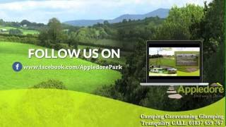 Camping Caravanning Trailers Glamping Appledore Park Devon UK