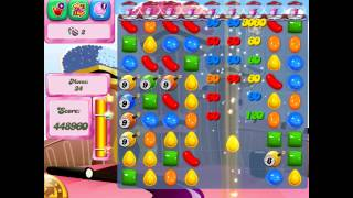 Candy Crush Saga: Level 384 (No Boosters 3★) iPad