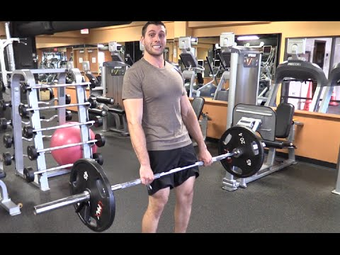 Barbell Complex Workout - Deadlift, Clean, Press & Squat [Olympic Lifting]