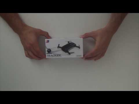 DRONE JXD 523 TRACKER (Unboxing & test) Greek