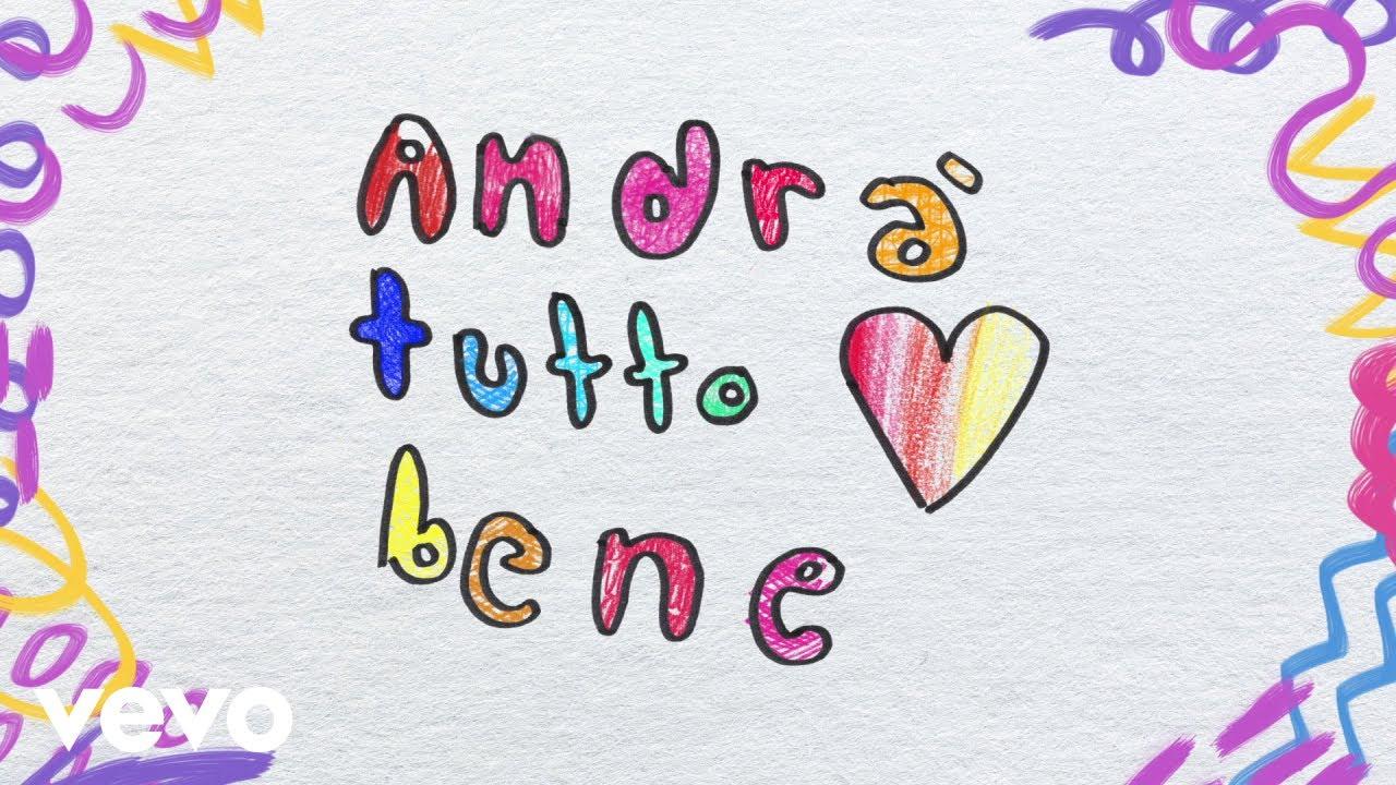 Elisa - Andrà Tutto Bene (Lyric Video) ft. Tommaso Paradiso
