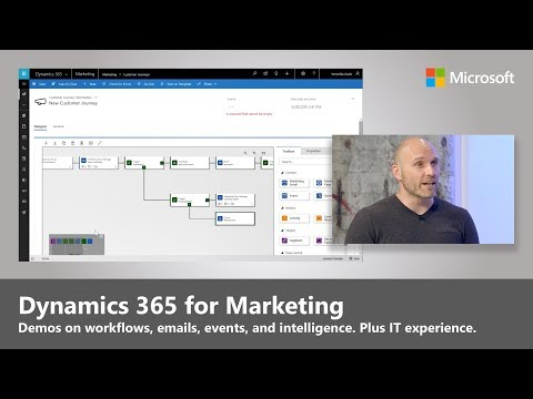 Introducing Dynamics 365 for Marketing