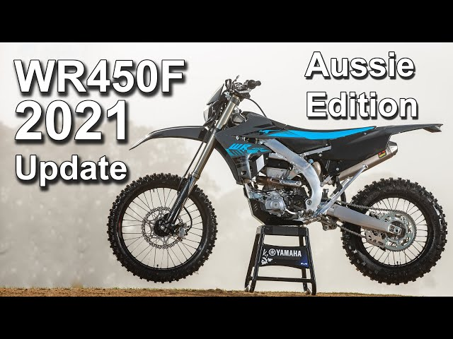 2021 Yamaha WR450F Updated + Aussie Special Edition Announced!