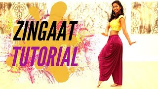 Zingaat - Dhadak | Dance Tutorial | DanceWithAbby