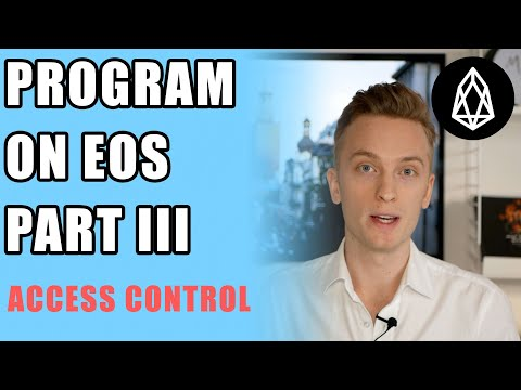 EOS Programming Tutorial for Beginners - Part 3 (Permissions & Authority) thumbnail