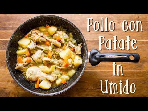 Pollo con Patate in Umido  Ricetta Secondo con Contorno Veloce