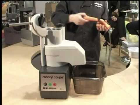 Robot coupe r301 ultra food processor demonstration youtube - Robot coupe r301 occasion ...