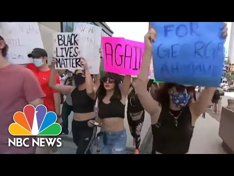 Experts Warn Protests Could Accelerate Second Wave Of Coronavirus | NBC Nightly News