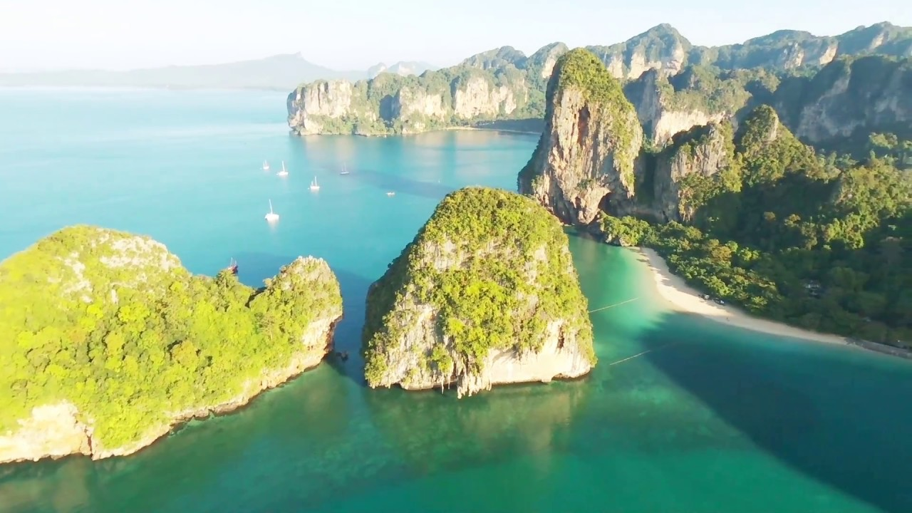 Railay Beach Phra Nang Ao Stunning Scenery