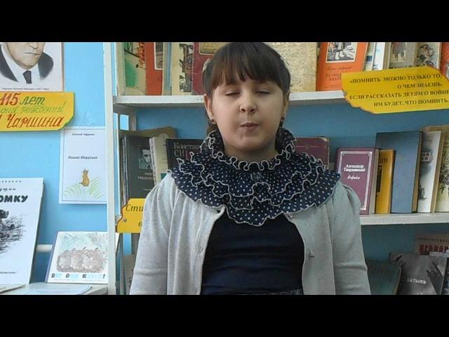 Изображение предпросмотра прочтения – КаринаЕфремова читает произведение «Мартышка и очки» И.А.Крылова