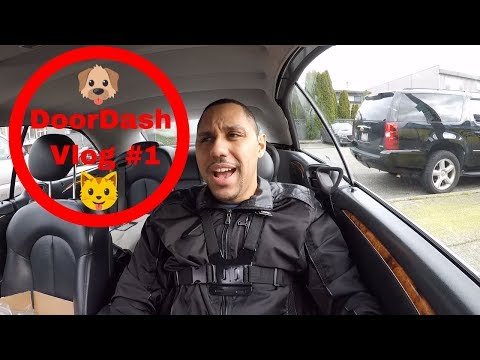 Doordash and Ubereats VLog 1 First Videolog!
