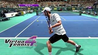 Virtua Tennis 4 - Arcade mode very hard - Roddick