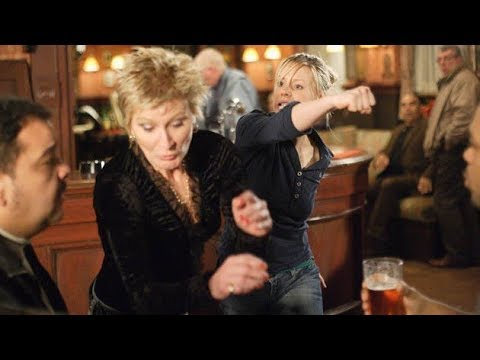 EastEnders - Carly Wicks Punches Shirley Carter (2nd February 2007)