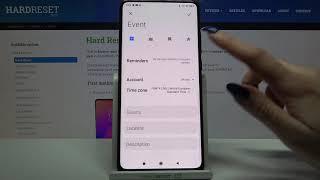 How to Create an Event to Calendar in Xiaomi Mi 9T - Customize Event in Calendar