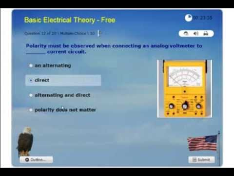 Electricity Basic - Journeyman and Master Electrician License Practice Exam - NEC Certification