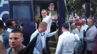 Andrzej Duda w Nowej Soli