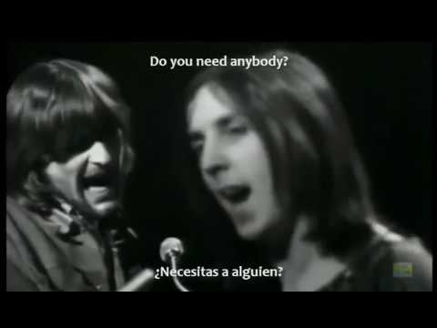 With a little help from my friends - Joe Cocker Lyrics INGLES/ESPAÑOL
