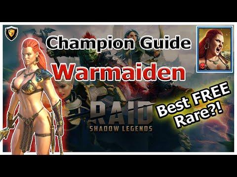 RAID Shadow Legends   Champion Guide   Warmaiden