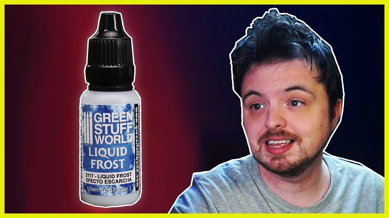 Playing With Liquid Frost From Green Stuff World - A Review...Kinda