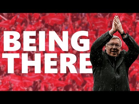Being There: Sir Alex Ferguson's Last Home Game