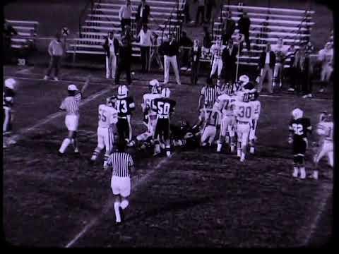 Ware Shoals High School (26) vs Christ Church Episcopal School (21) Football Game, 1983 (Part 1)