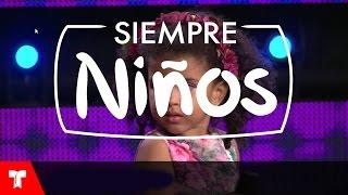 """Dominicana de 3 años canta """"Ya Te Olvidé"""" en Siempre N..."""