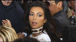 Срочно!Видео нападения на Ким Кардашьян появилось в Сети