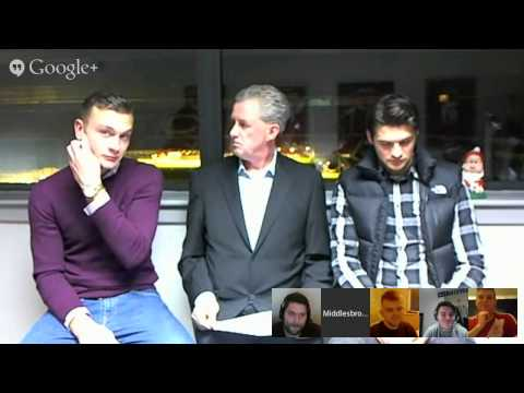 Google+ Hangout With Ben And George