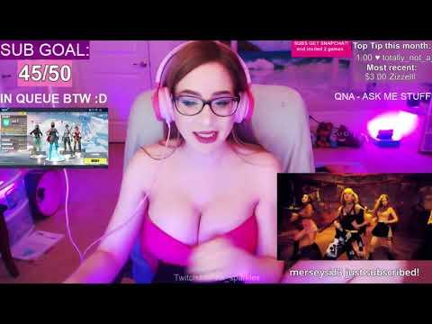 PinkSparkles calls her chat weebs