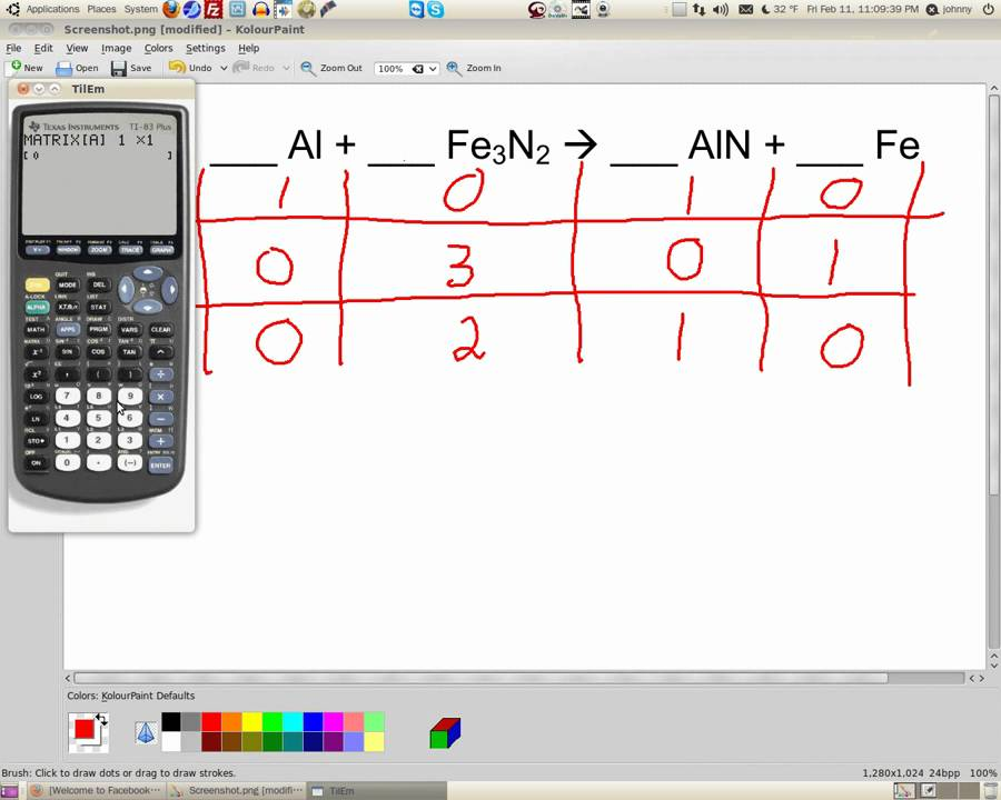 how to solve balancing chemical equations