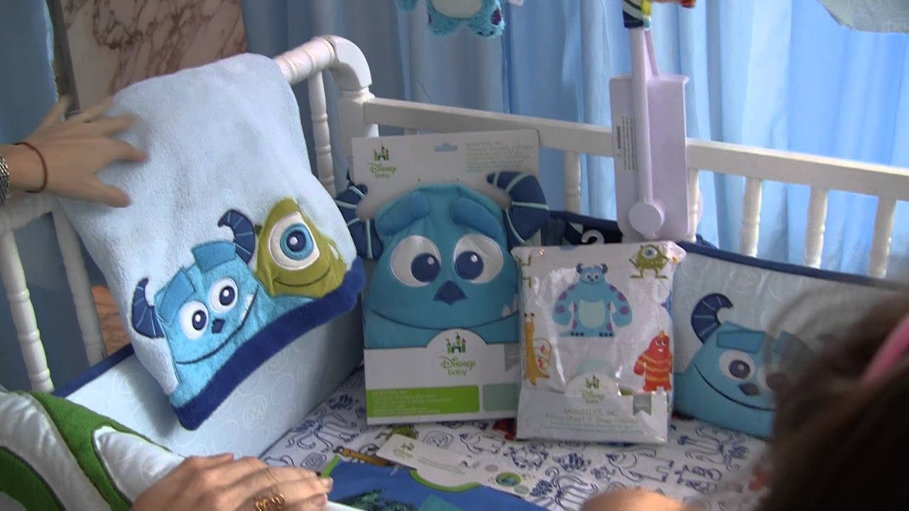 Monster Inc Baby Shower Decorations Disney Baby Monsters Inc Nursery Theme Youtube