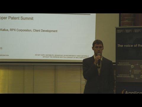 Developer Patent Summit: San Francisco - Presentation