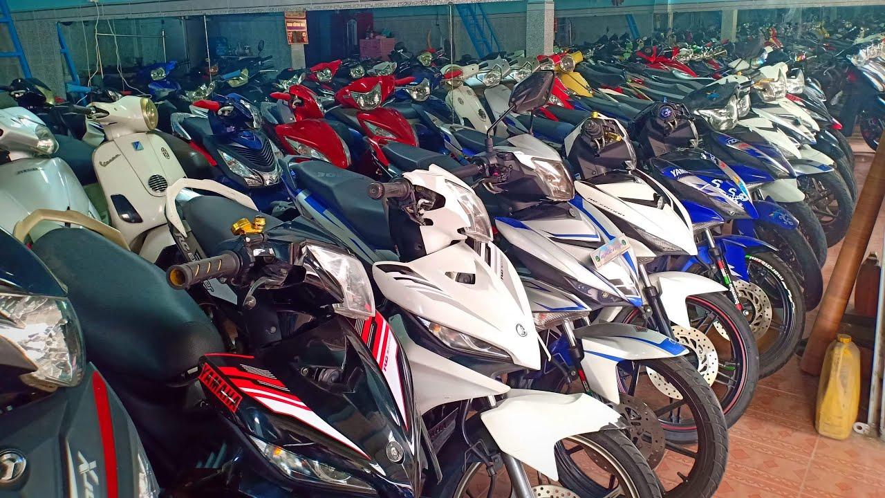 Xã 100 xe máy các loại – giá rẻ đoán Tết ,có vận chuyển xe về đến Quên.Bình Dương| mỹ motor