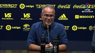 Rueda de prensa de Álvaro Cervera tras el Cádiz CF vs Extremadura UD (2-1)