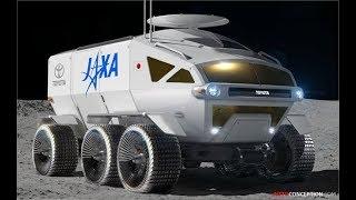 Toyota Designs Moon Rover for Japanese Space Agency JAXA