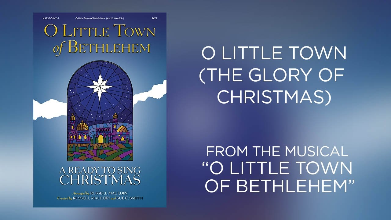 O Little Town (The Glory of Christmas) (Lyric Video) | O Little ...
