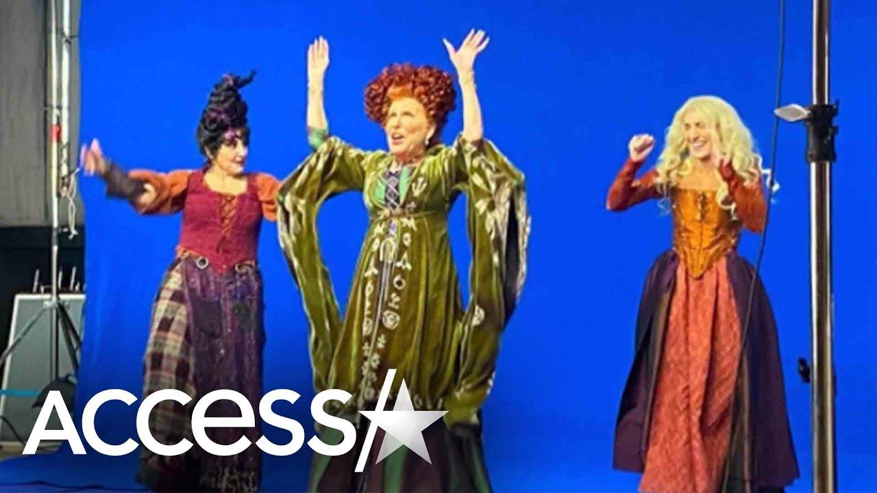 'Hocus Pocus' Costumes Of Bette Midler, Sarah Jessica Paker & Kathy Najimy Revealed