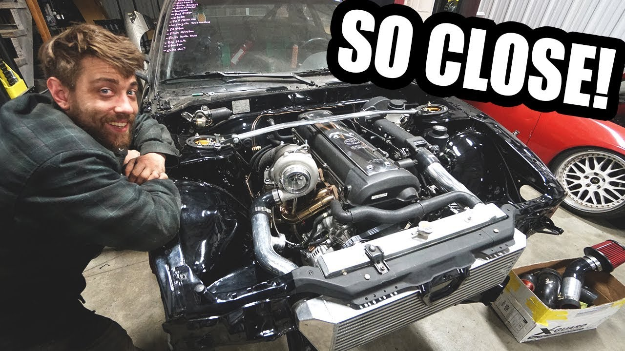 1JZ swap is ALMOST complete