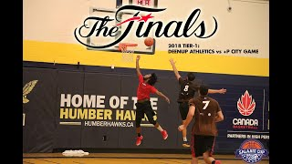 2018 Salaam Cup Basketball Tier-1 Finals: DeenUp Athletics vs +P City Game