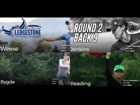 2017 Ledgestone Open: Round 2, Back 9 (Weese, Jenkins, Bygde, Reading)