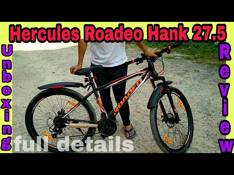 Hercules Roadeo Hank 27.5 ll Unboxing and Full review ll road test,grass test