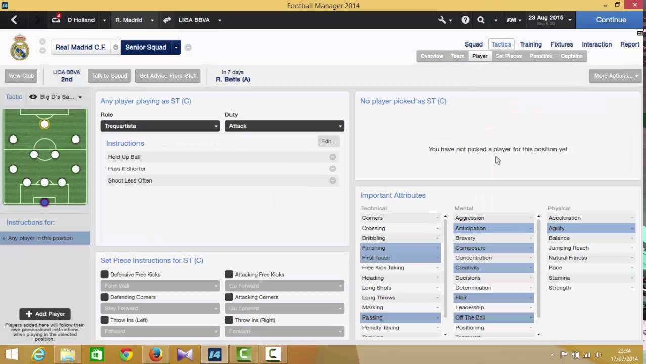 The Ultimate Football Manager 2014 Lower League Tactic
