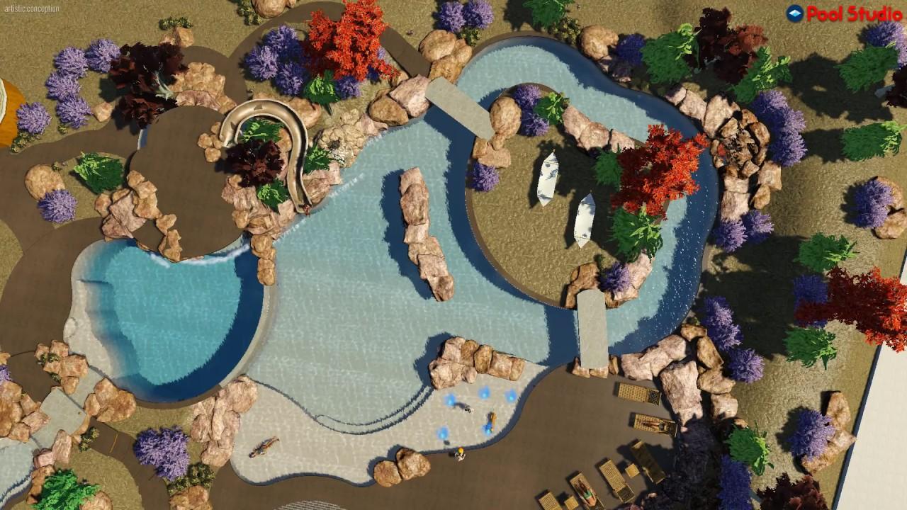 3d swimming pool design software. Pool Studio - 3D Swimming Design Software 3d T
